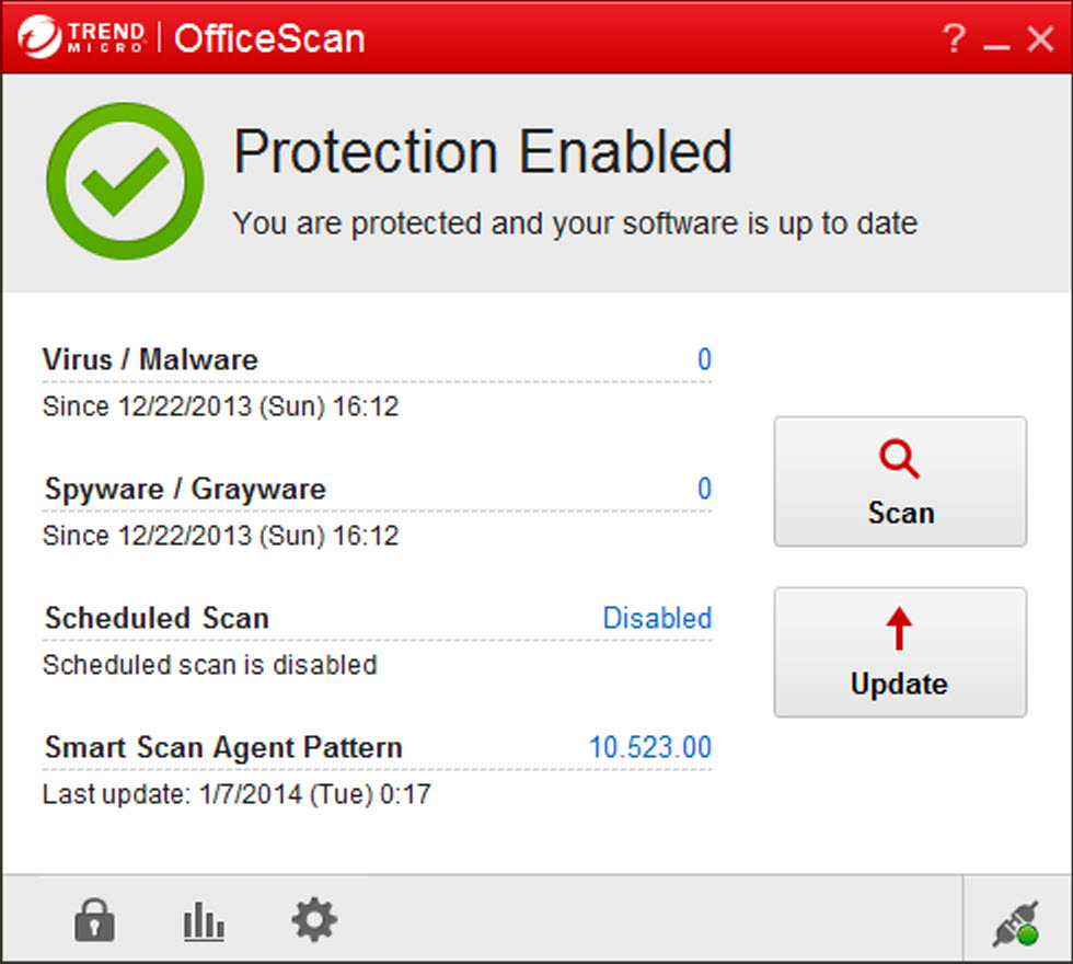 trend micro officescan client