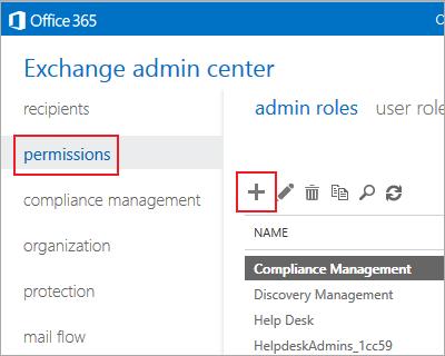 microsoft office 365 admin roles